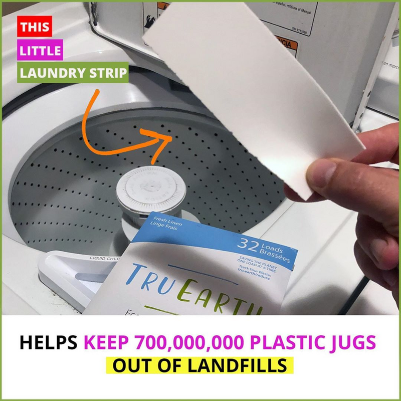 Eco Laundry Strips: Compostable, No Measuring, No Mess