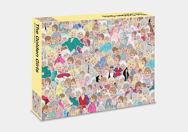 THE GOLDEN GIRLS JIGSAW PUZZLE