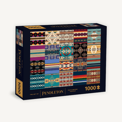 THE ART OF PENDLETON PATCHWORK 1000 PIECE PUZZLE