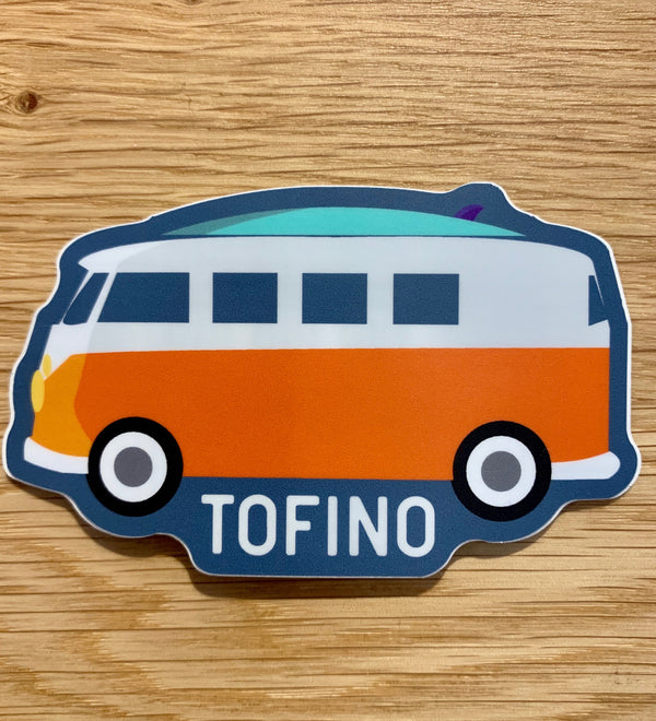 TOFINO VAN STICKER