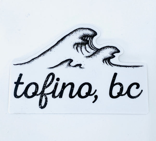 TOFINO BC WAVE STICKER