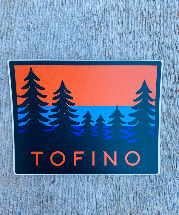 TOFINO SUNSET STICKER