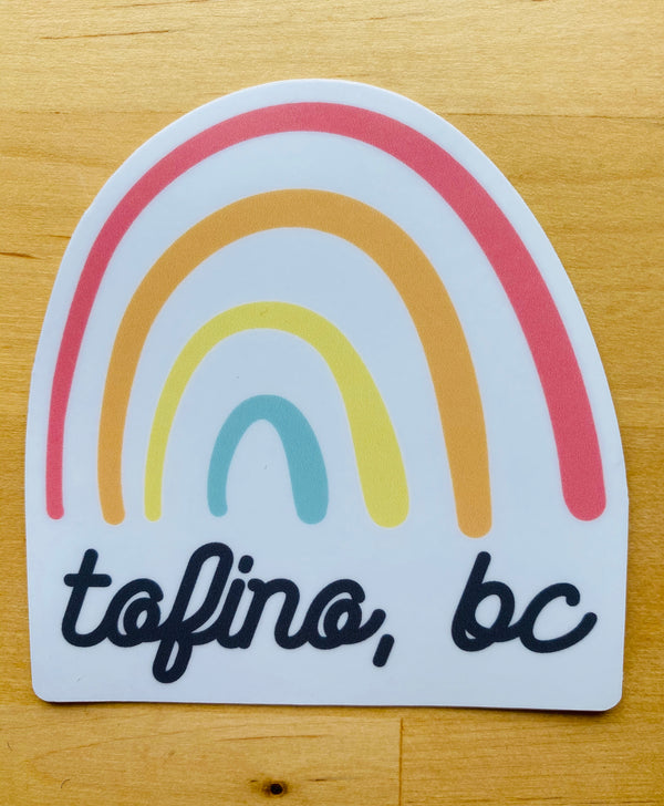 TOFINO RAINBOW STICKER