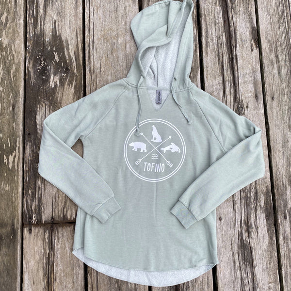 TOFINO CIRCLE WOMEN'S LIGHWEIGHT HOODIE