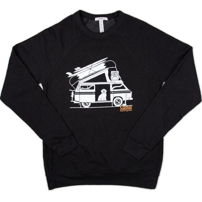 OTIEFALIA SWEATSHIRT BLACK HEATHER