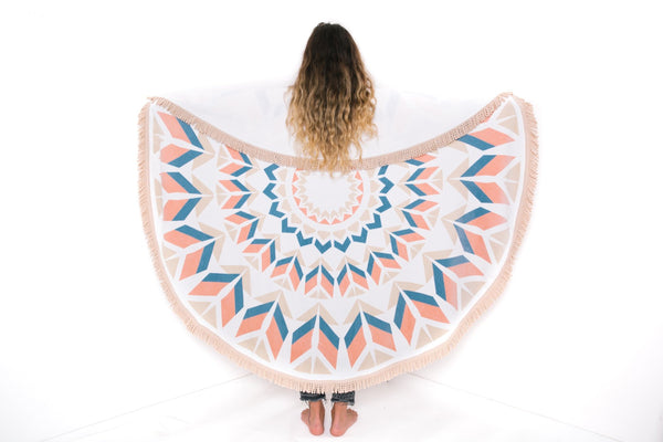 THE MYSTIC ROUND TOWEL