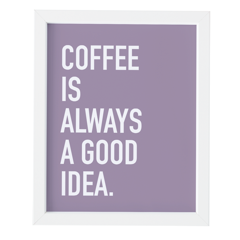 COFFEE IDEA ART PRINT