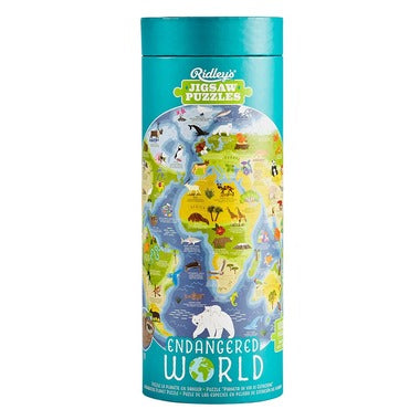 ENDANGERED WORLD JIGSAW PUZZLE ``