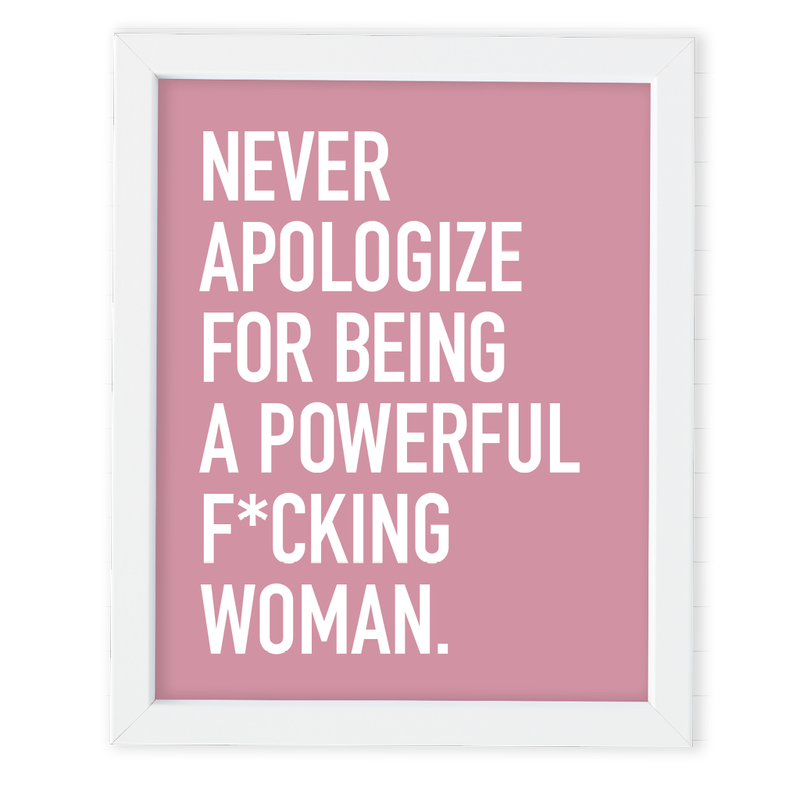 POWERFUL WOMAN ART PRINT