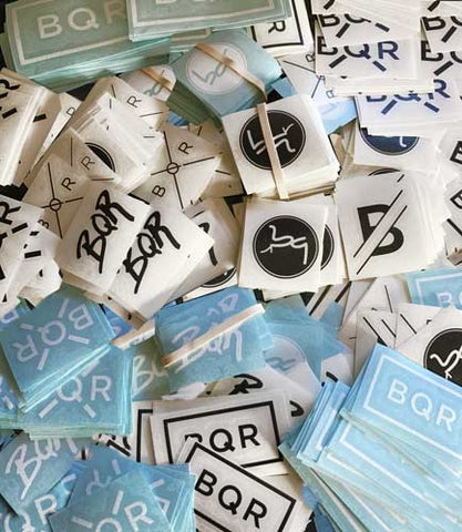 BQR sticker selection