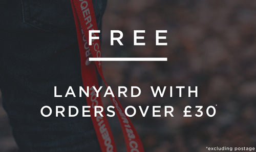 Free Lanyard with orders over £30