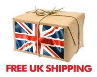 Free UK shipping over £100