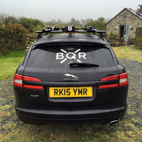 BQR Boqer123 Windscreen sticker vinyl - Jaguar Jag
