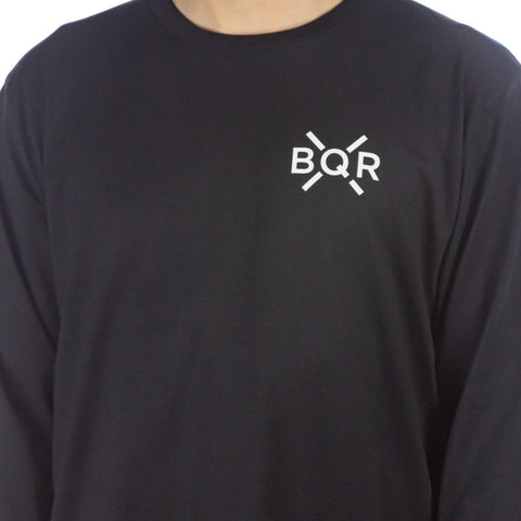 Bold Long Sleeve Tee Black