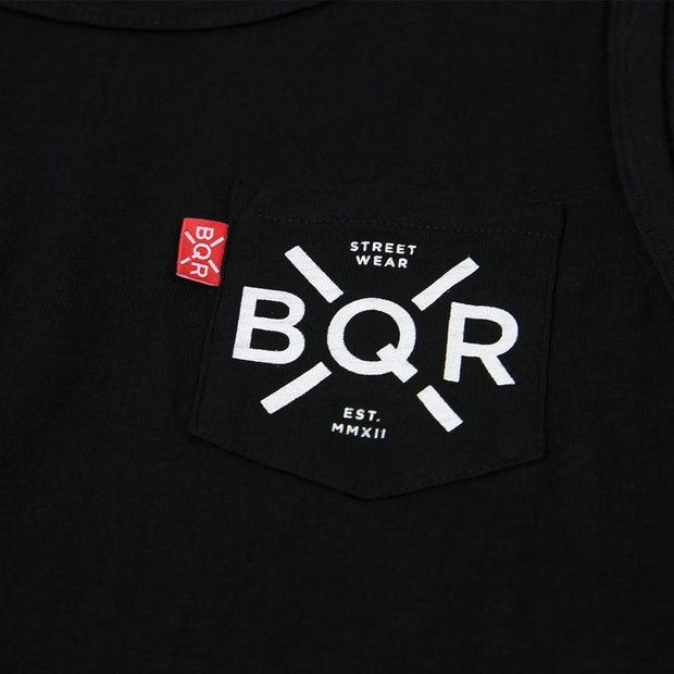 bqr pocket vest black