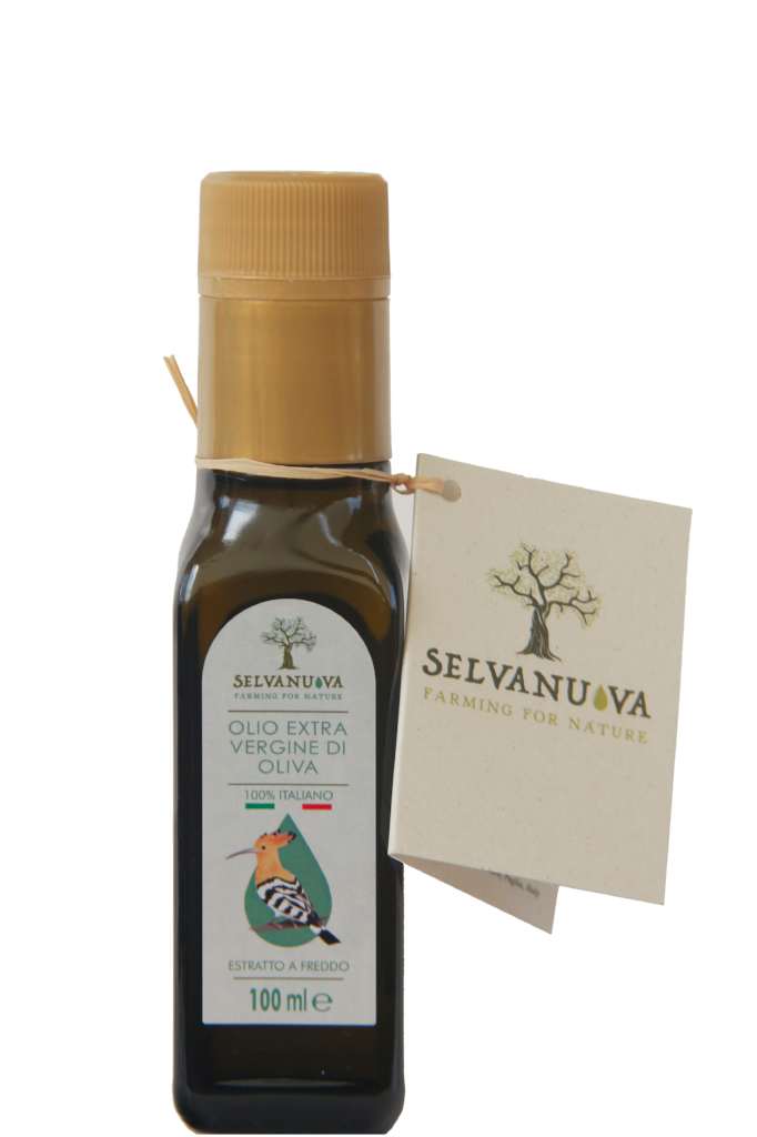 Extra virgin olive oil, 100 ml bottle - Selvanuova
