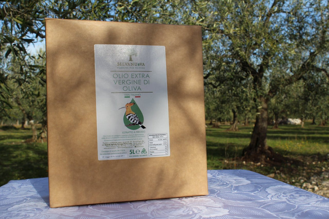 Extra virgin olive oil, 5 litre bag-in box - Selvanuova