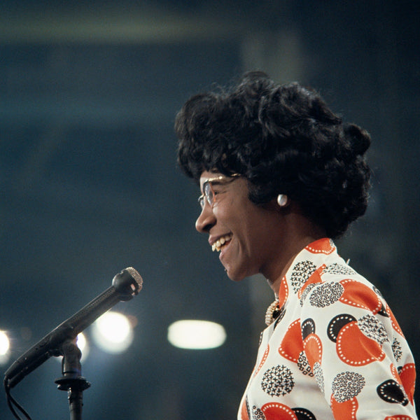 Shirley Chisholm.