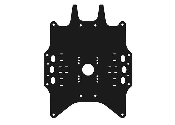 Spare Top Plate Middle- Cannonball 800
