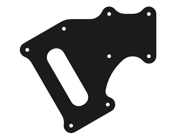 Spare Motor Mount Bottom Plate w/armbrace - Cannonball 800