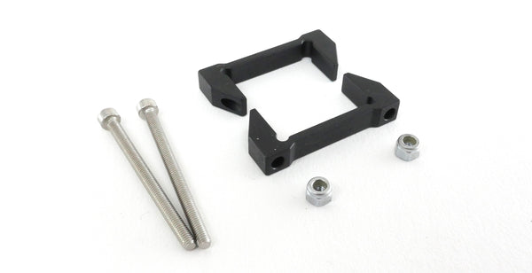 Spare Aluminum Tube Clamp Pair (with screws/nuts) - Tasmanian