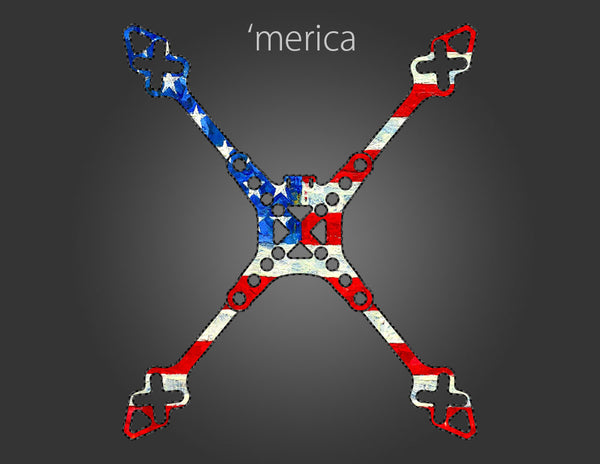 "Stikit Skin Full Wrap - (Merica 5"") - DROP SHIPPED ITEM"