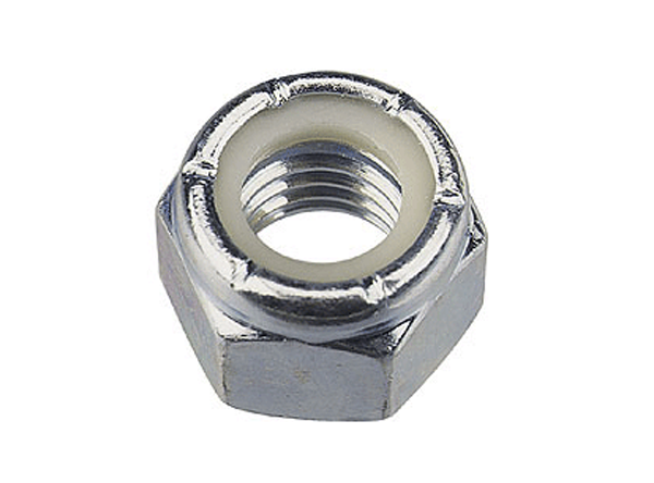 M3 NYLOCK NUT (Steel)