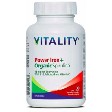 Power Iron + Organic Spirulina