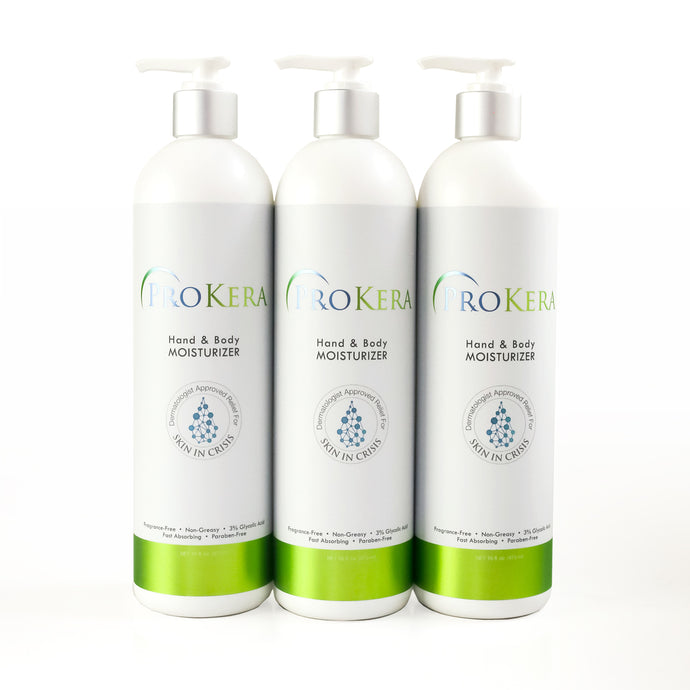 ProKera Hand & Body Lotion, 3-pack 16 oz. Bundle
