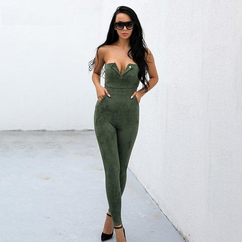 ALESHA JUMPSUIT IN KHAKI