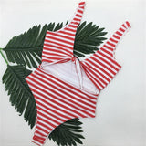 ARIA KNOTTED SWIM