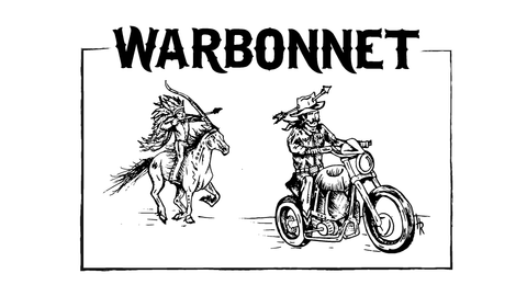 Warbonnet Graphic Patch