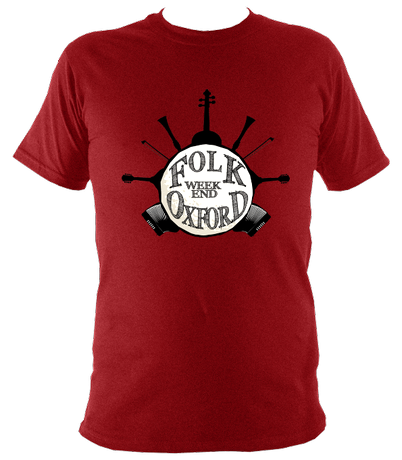Folk Weekend T shirt (logo only)