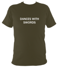 Dances with Swords T shirt