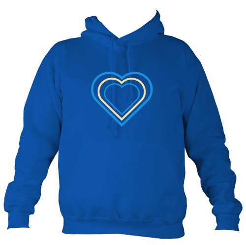 Kids Heart Hoodie - designed by Faye