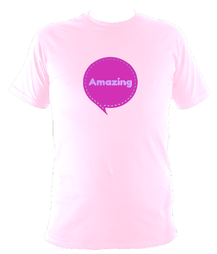 Kids Amazing T shirt - designed by Faye