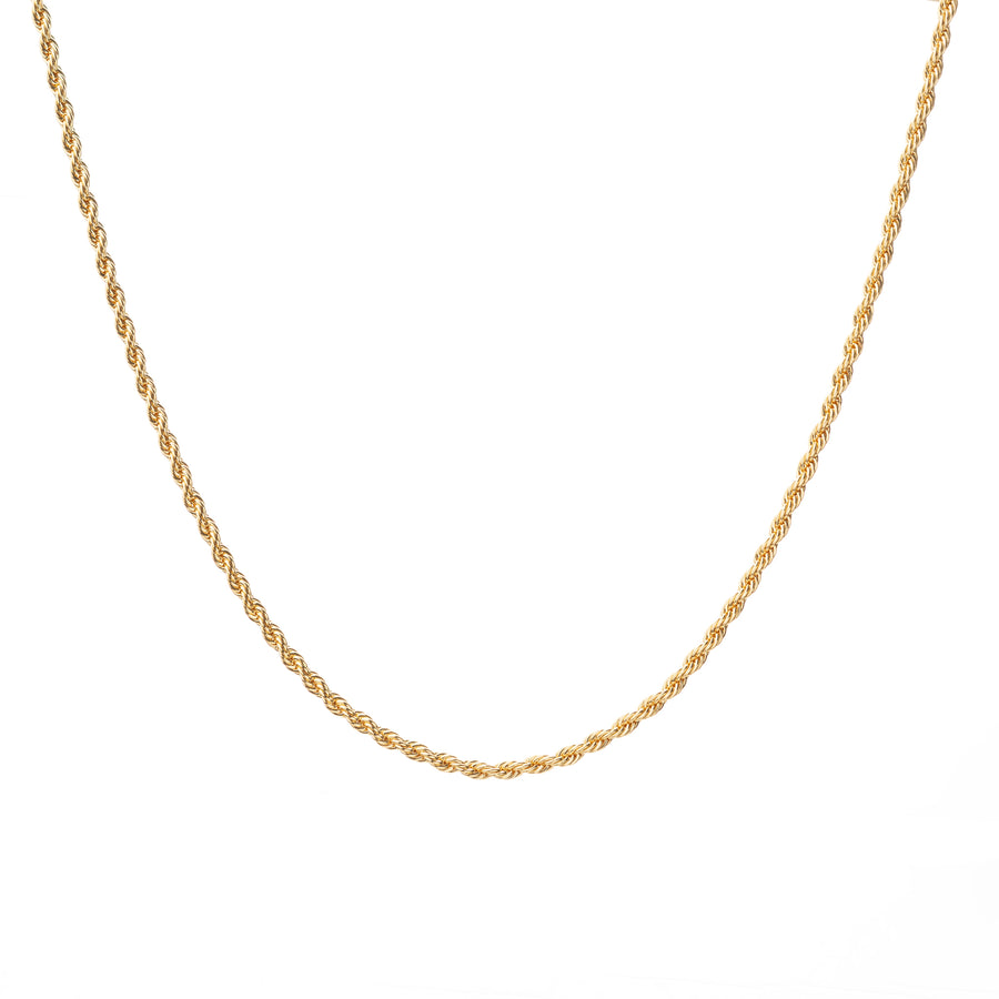 Rope Chain Gold 1.5mm