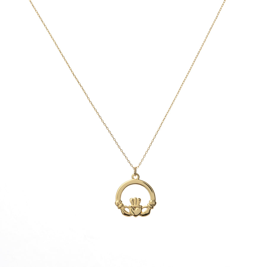 The Claddagh Necklace