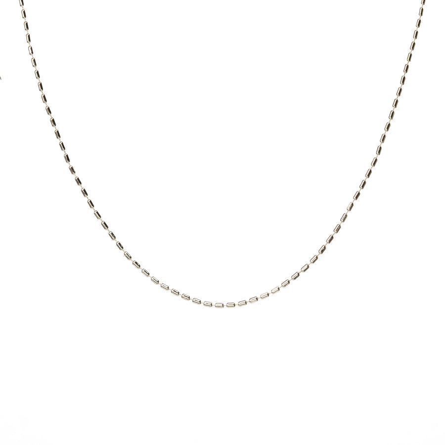 Little Link Necklace Silver 14 inches