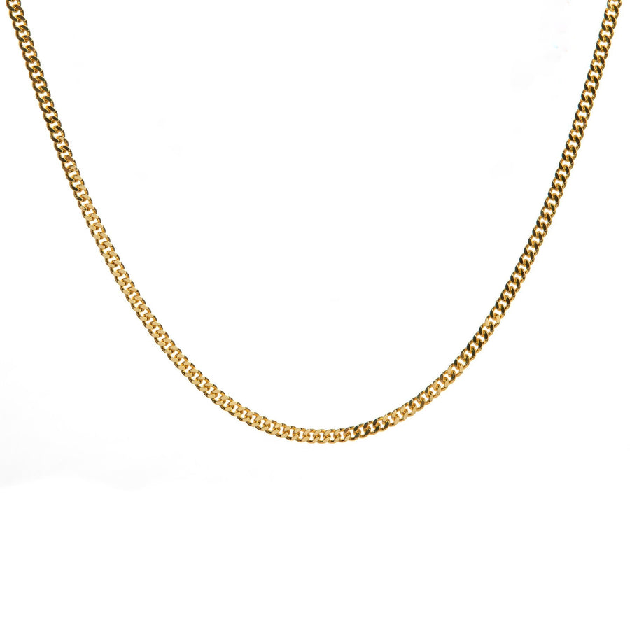 Curb Chain Gold 14 inches