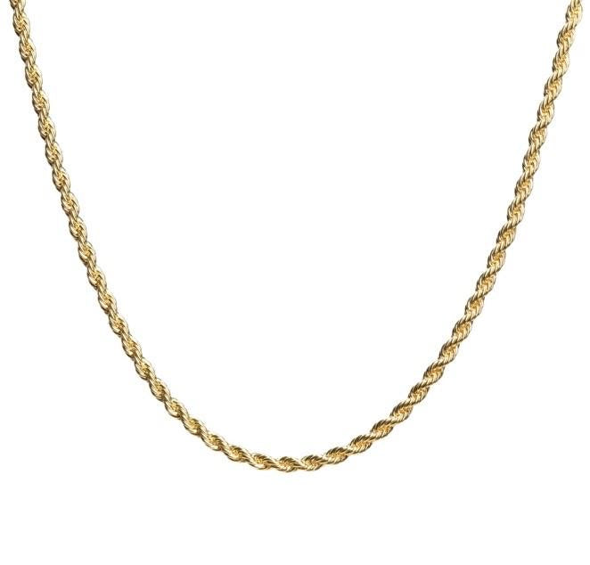 Rope Chain Gold 2.5mm