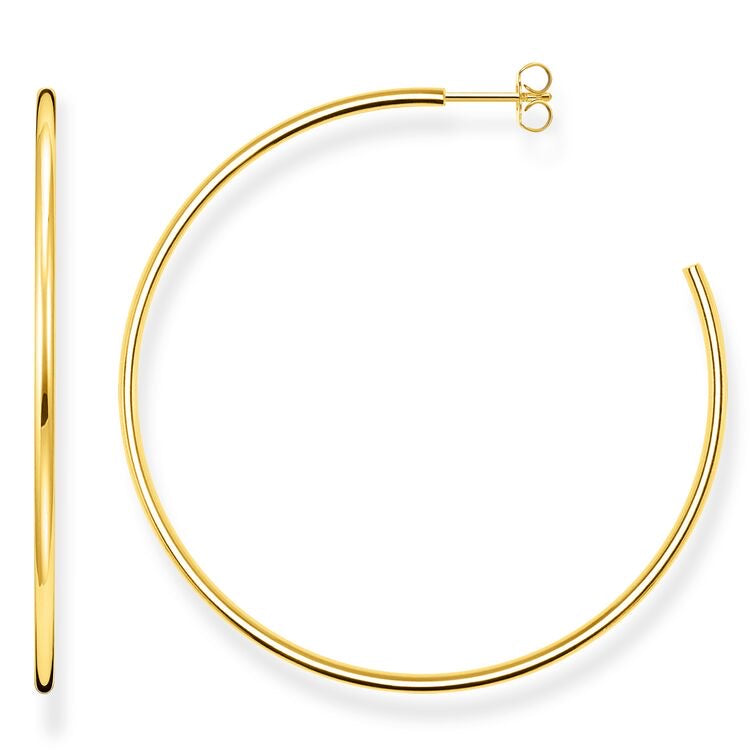Large Skinny Hoops