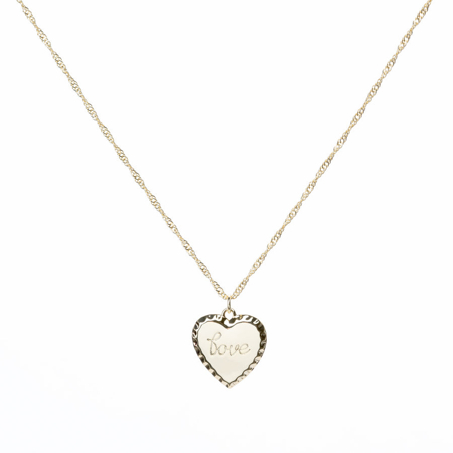 love necklace pendant
