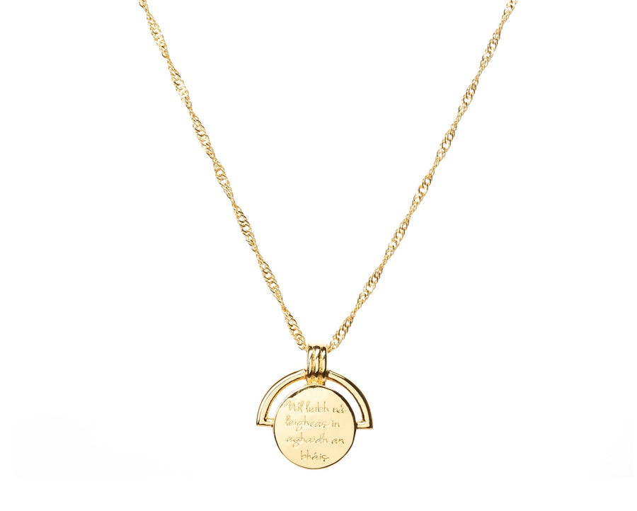 Irish Coin Necklace designed in Ireland