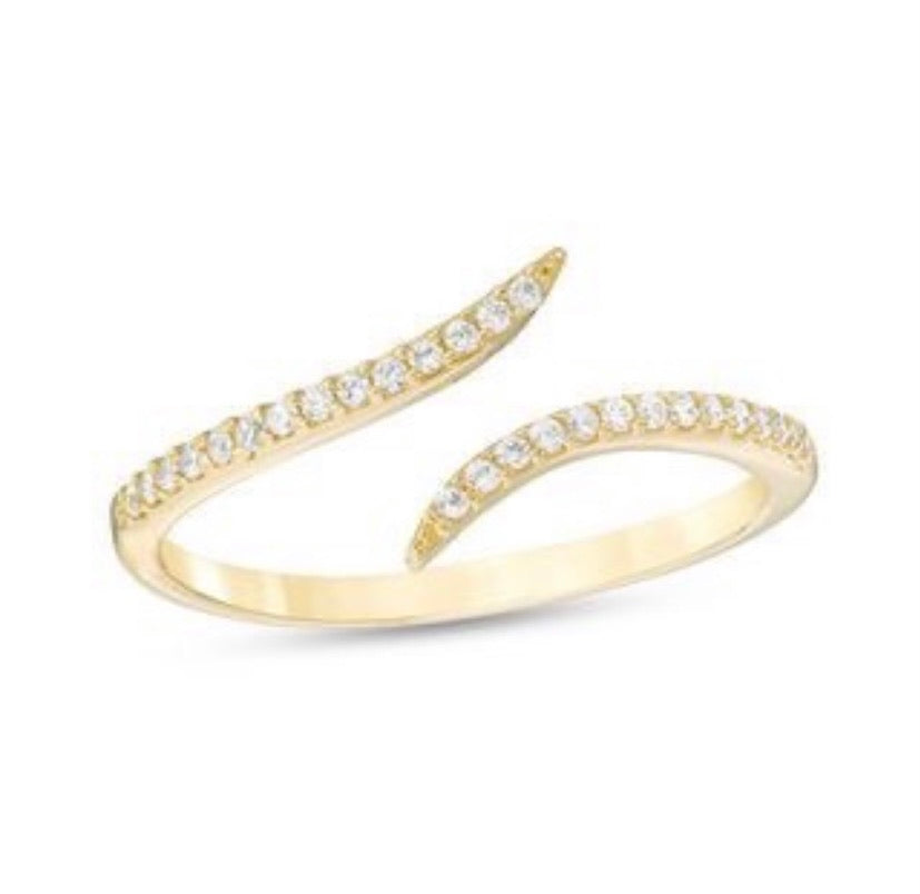 The Double Diamante Ring