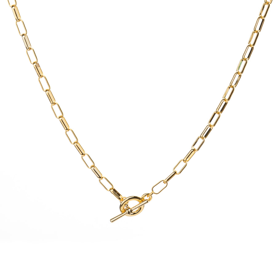 t-bar link necklace