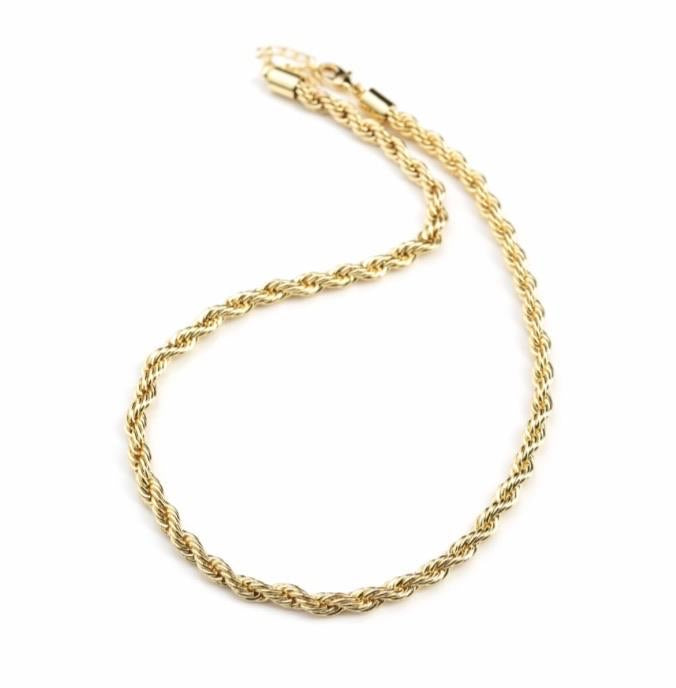 Rope Chain Gold 3.5mm