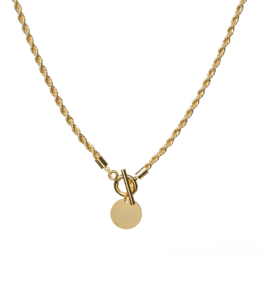 Toggle Rope Chain Necklace