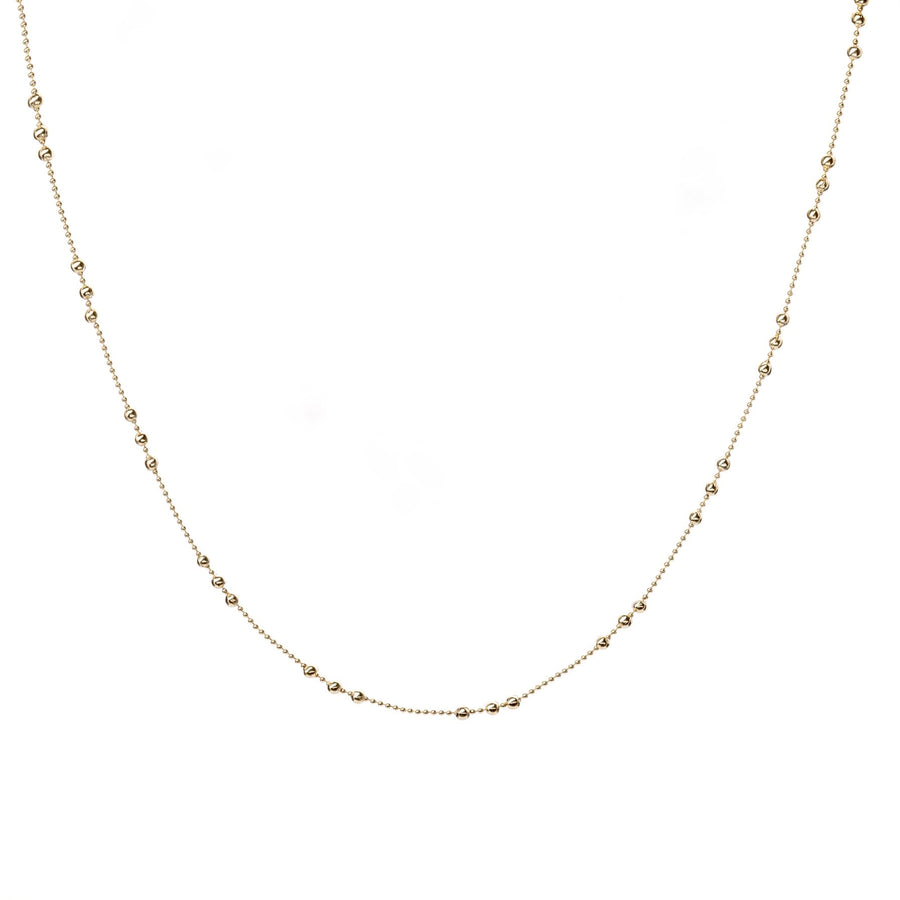The Dotted Ball Necklace 14 inches