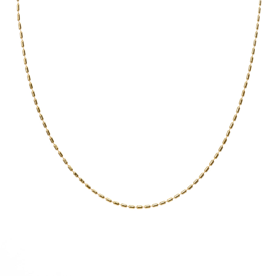 link gold necklace